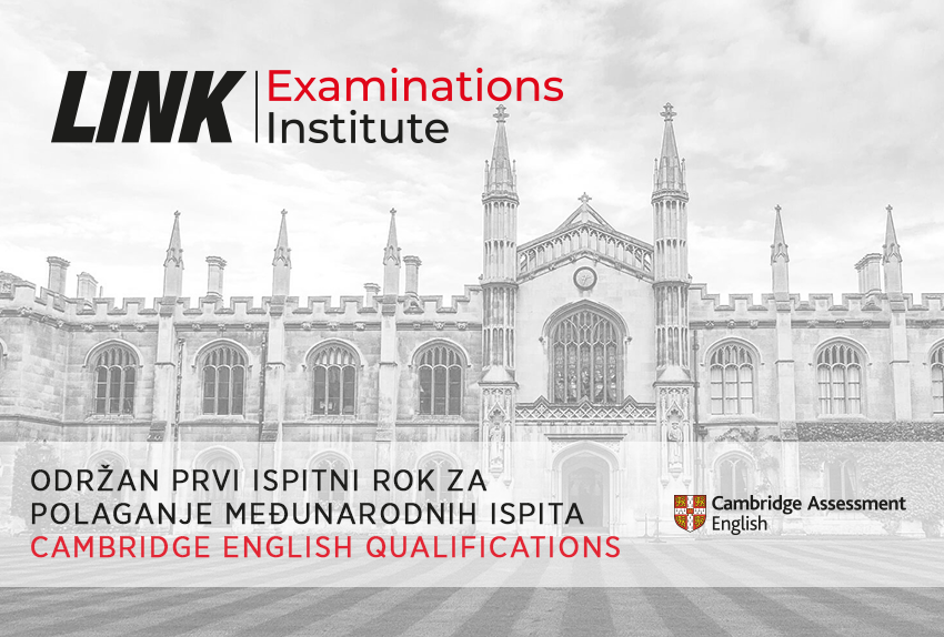 Održan prvi ispitni rok za polaganje međunarodnih ispita Cambridge English Qualifications